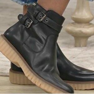 PIKOLINOS Buckle Leather Urban Boots 10 OBO